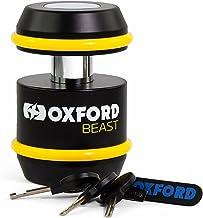 Oxford Unisex's LK120 High Security hangslot, Zwart, One Size