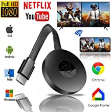 $24 » Wireless WiFi Display Dongle, HDMI 1080P TV Receiver Sharing HD Video from Projectors Cell Phones Tablet PC Support Airplay DLNA Miracast, Compatible with iOS/Android/Pixel/Nexus/Mac/Windows