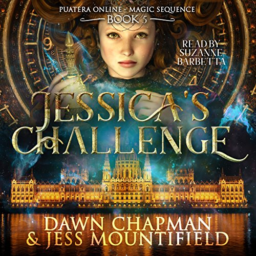 Jessica's Challenge     Puatera Online, Book 5              By:                                                                                                                                 Dawn Chapman,                                                                                        Jess Mountifield                               Narrated by:                                                                                                                                 Suzanne Barbetta                      Length: 3 hrs and 24 mins     18 ratings     Overall 4.8