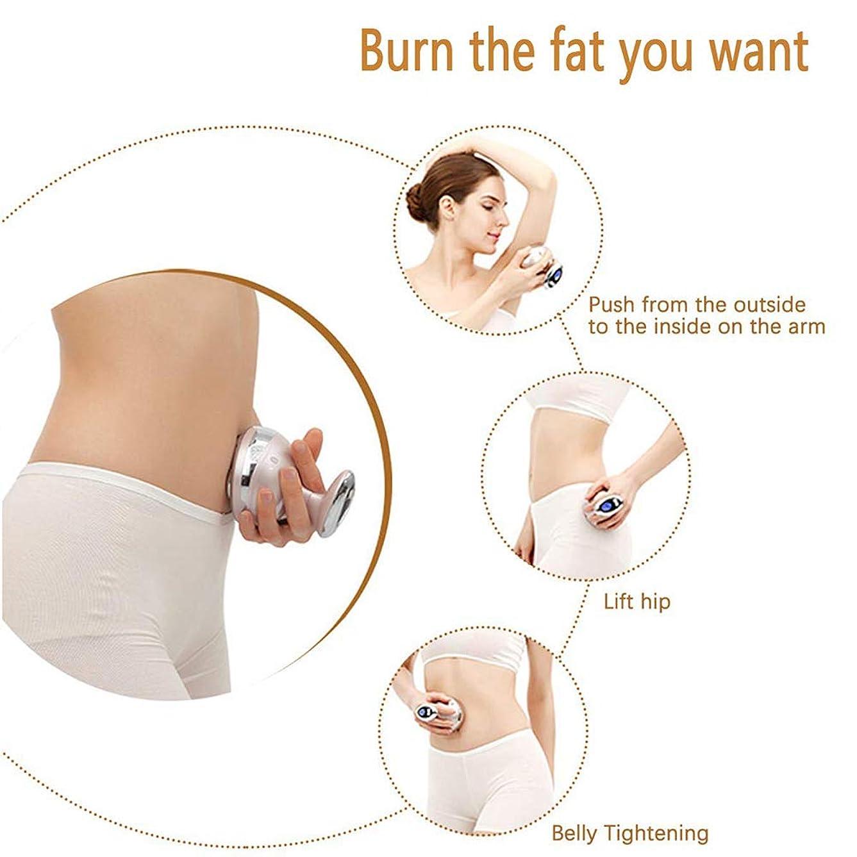 むちゃくちゃ名前を作る骨ボディトーニングデバイス、脂肪除去機超音波ガルバニックバーナー脂肪セルライトおなかベリー減量マシンマッサージャー