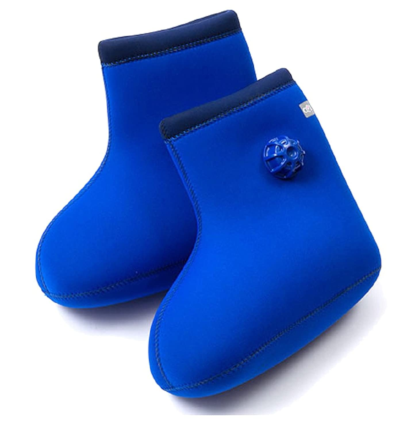 電気技師私達理解やわらか湯たんぽ 足用底なし ブルー M