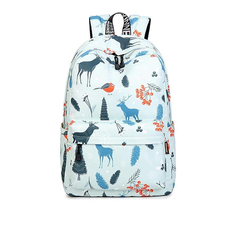 以内にホイッスル花輪ティーンのための女の子の女性のバックパックの財布ファッションバックパックのための防水ブックバッグ