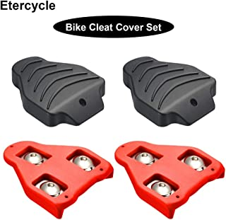 Etercycle Bike Cleats Cover Set Compatible with Look Delta/KEO Cleats,Perfect for Indoor Outdoor Cycling Shoes Road Grip Pedals Spining Class Cycle