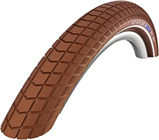 Schwalbe Big Ben Active Line Twin Skin K-Guard SBC Wired Tyre-Reflex Brown, 28 x 2 Inch