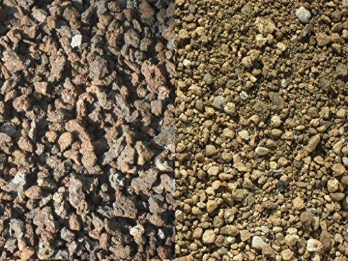 Der Naturstein Garten 50 kg Substrat zur Dachbegrünung - Sorte 3 Lava Bims - Gründach Begrünung - Lieferung KOSTENLOS