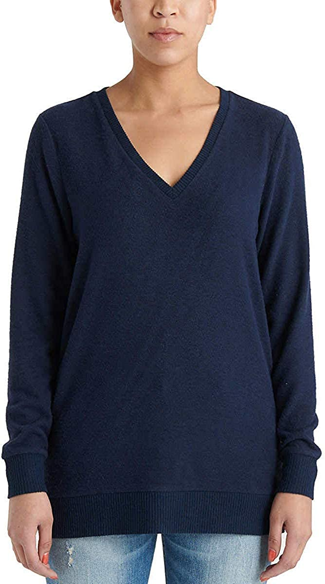 Lucky Brand Ladies' V-Neck Tulsa Mall Tunic Pullover Long Max 58% OFF Sleeves
