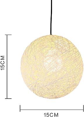 Amazon.com: Rattan chandelierchandelierindustrial ...