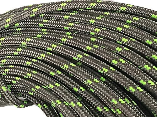 Arborist Double Braid Poly Rope 1/2 Inch Platinum (100')