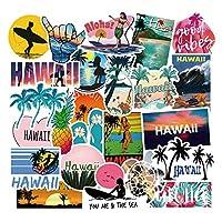 ハワイ ハワイ旅行 海 砂浜 トラベル 風景 レジャー 絶景スポット 癒しの旅 感動 ステッカーボム デカール ステッカー50枚