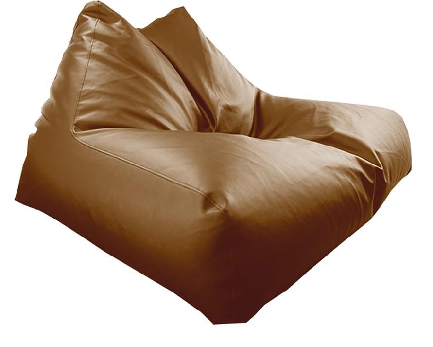 楽観中で一月「人を神にするソファ(人を神にする椅子)」 ビーズクッション 0-Gravity XXXLサイズ 日本製 (ブラウン)