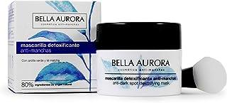 Bella Aurora Mascarilla Facial Detoxificante Anti-Manchas Mascarilla Natural Elimina Impurezas y Reduce los Poros Ilumi...