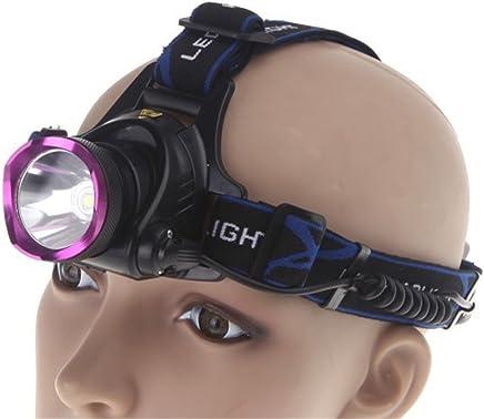 GLJJQMY Camping Scheinwerfer Aluminium Starke Scheinwerfer LED Fernlicht T6 Scheinwerfer Einstellbar Taschenlampe (größe   Combination) B07LBT3Q21     | Moderne und stilvolle Mode