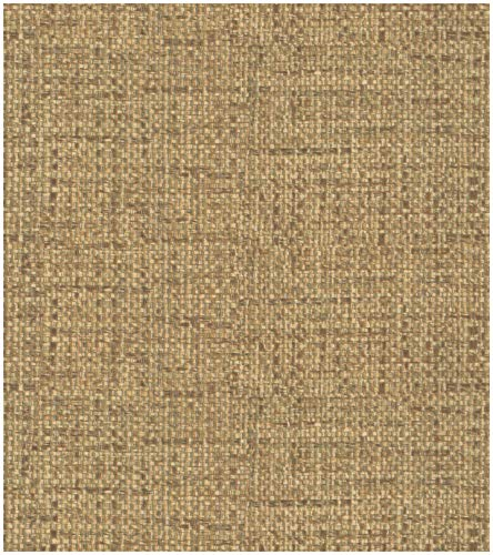 Birwall Faux Khaki Grasscloth Peel and Stick Wallpaper Self-Adhesive Prepasted Wallpaper Wall Décor Contact Paper, 14.5 Square Ft/Roll
