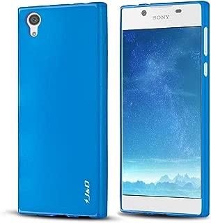 J&D Case Compatible for Xperia L1 Case, [Drop Protection] [Slim Cushion] Shock Resistant Protective TPU Slim Case for Sony Xperia L1 Bumper Case - Blue