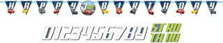 Cars 3 Jumbo Add-an-Age Letter Banner