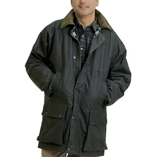 3b467fe27c8 Country Leisure Wear British Quilted Wax Rain Jacket