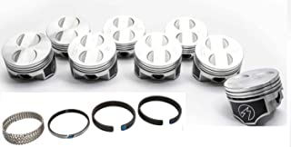 Speed Pro/TRW Forged Coated Flat Top Pistons+MOLY Rings Kit +.030