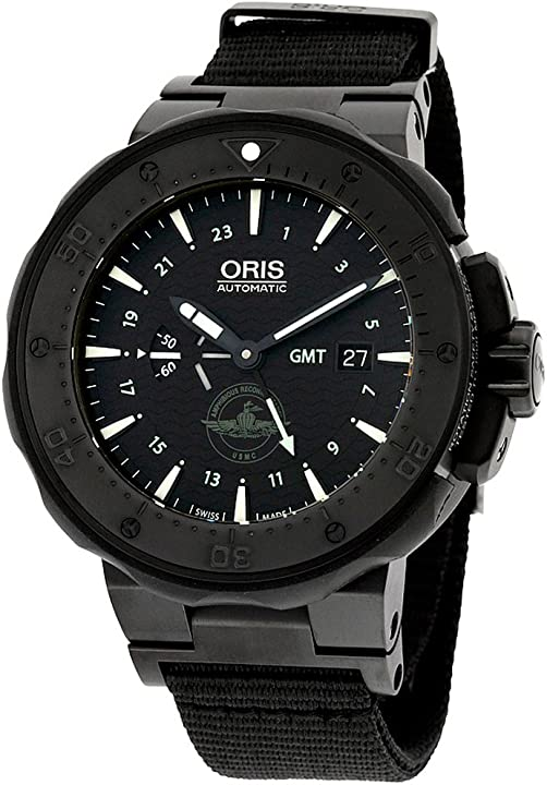 Orologio oris force recon gmt-set lunetta ceramico 01 747 7715 7754