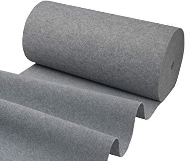 WX&QIANG Hallway Runner Rugs Corridor Carpet Disposable Marry Celebration Water Absorption Gray 2mm Thick, Custom Length Crea