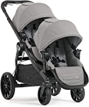 Best Baby Jogger City Select LUX Double Stroller | Includes Second Seat | Double Baby Stroller with All-Terrain Tires | Quick Fold Stroller, Slate Review