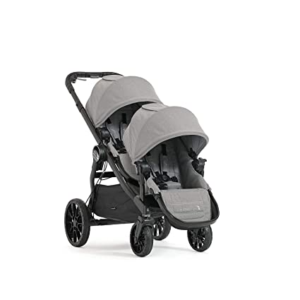 Baby Jogger City Select LUX - The Best Multi-Configurable Double Jogging Stroller for Long-Distance Rides