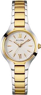 Bulova Women's 98L217 Analog Display Quartz Two Tone Watch