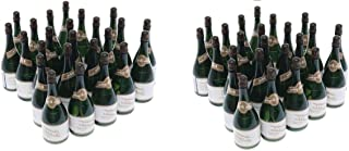 Nicky Bigs Novelties 48 Mini Champagne Bottles Wedding Bubbles New Years Eve Graduation Party Favors