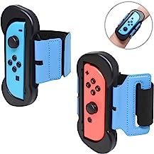 FYOUNG Paquete De 2 Correas De Baile para Just Dance 2020 2019 2018 Nintendo Switch, Brazalete Elástico Ajustable para Nintendo Joy-Cons Izquierda Y Derecha