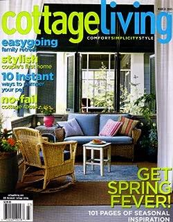 Cottage Living Magazine March 2005 - Spring Fever