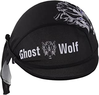 TESOON Mesh Dew Rag Cooling Breathable Skull Cap