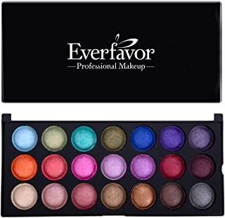 Everfavor Cosmetics Eyeshadow Palette, Professional 21 Color Baked Eyeshadow Palette with Galaxy Colors (21 colors, 05)