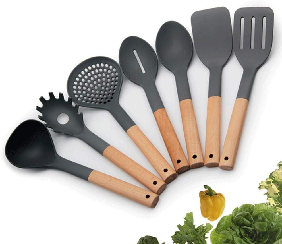 Now on sale ZUQIEE Silicone Kitchenware Ranking TOP8 Kitchen Co 7-Piece Utensils