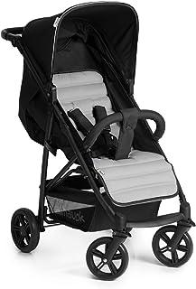 Hauck Rapid 4, barnvagn upp till 25kg med liggläge från födseln, liten och hopfällbar med en hand och med höj- och sänkba...
