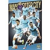 GB Eye 61x 91,5cm Manchester City, Spieler 15/40,6cm