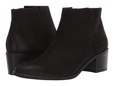Paul Green Bernie Boot (Black Hydro Nubuck) Women