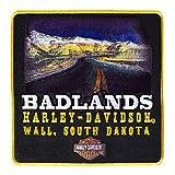 Harley-Davidson Badlands Road Emblem Sew On Patch