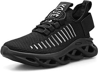 Zapatillas Niño Zapatos Deporte Transpirables Ultraligeras No Requieren Cordones Zapatillas de Correr Niños Casual Running...