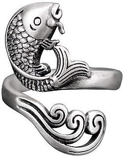 LJSLYJ Garnfederf/ührungen Tragen Fingerhut Fingerring Typ Strickwerkzeuge N/ähwerkzeug