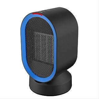 HKDJ-600W / PTC De Cerámica Rápidamente Calefactor Eléctrico,Interruptor Tactil,Ahorro De Energía con Oscilación Silenciosa para El Hogar Y La Oficina 11,6 * 11,6 * 21,2CM