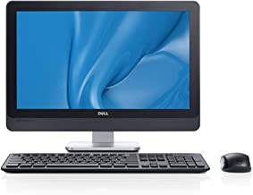 Dell Optiplex 9010 AIO 23in FHD WLED All-in-One Desktop Computer, Intel Quard-Core i5-3470S 2.9GHz, 8GB RAM, 128GB SSD or 12, DVDRW, USB 3.0, HDMI, Windows 7/10 Professional (Renewed)