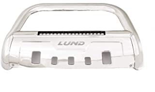 Lund 47021217 Bull Bar with Integrated LED Light Bar, Polished Stainless Steel for 2017-2019 Nissan Titan