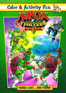 Ninja Turtles/The Next Mutation: Venus Lost and Found Coloring Book: (Must be ordered in carton quantity)