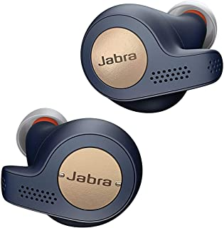 Jabra Elite Active 65t True Wireless Sports Earbuds with Charging Case  – Copper Blue