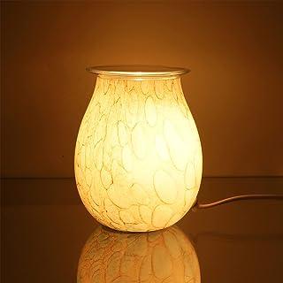 SOLUSTRE geurkaars, aroma, licht, aromatherapie, was, vloer, brander, aroma, nachtlampje, prachtige was, vloer, licht, lamp