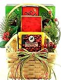 Gift Basket Village Cheese, Sausage and More, Holiday Gift Basket