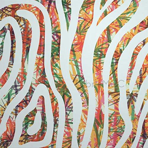 daoyiqi Juego de pegatinas decorativas para azulejos, diseño de rayas diagonales, 40,6 x 40,6 cm, vinilo impermeable para decoración de la cocina, el hogar