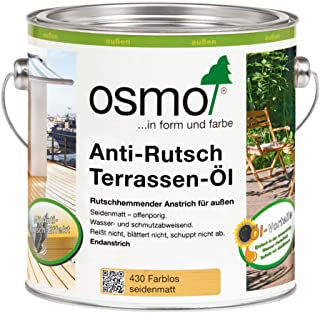 Osmo 430D, Terrassenöl, Anti-Rutsch, transparent, 2,5 l