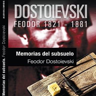 Memorias del subsuelo I [Notes from the Underground]                   De :                                                                                                                                 Feodor Dostoievski                               Lu par :                                                                                                                                 Miguel Ortíz                      Durée : 3 h et 26 min     Pas de notations     Global 0,0