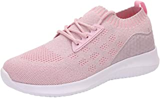 Best Running Shoes for Women,New Women's Shoes Mesh Shoes Leisure Sports Shoes are Breathable in Summer Shoe