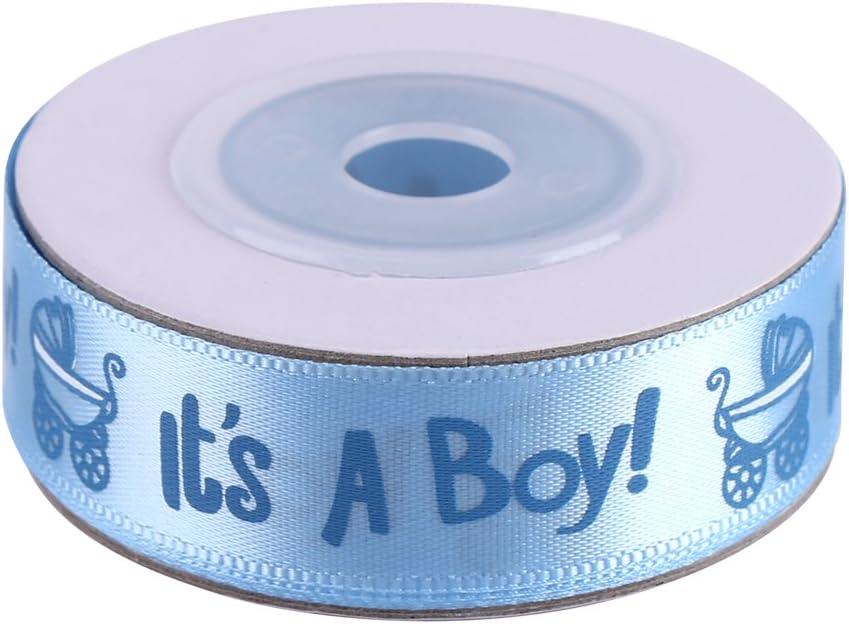 manualidades accesorio de clip para el pelo azul bonita cinta perfecta para envolver baby shower decoraci/ón de boda costura Cinta de manchas de 10 yardas